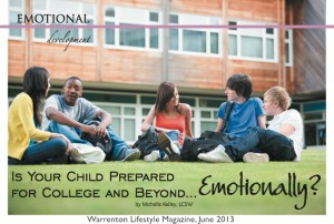 Is Your Child Prepared for College and Beyond, Emotionally? College Preparation Seminar Warrenton VA